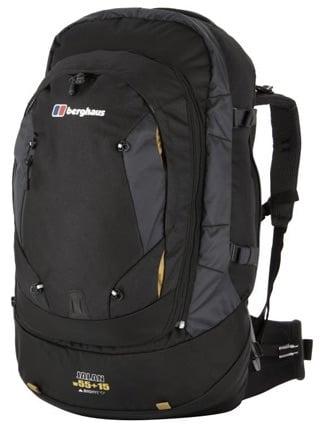Best backpack for travelling Berghaus Jalan