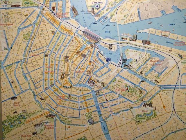 Alternative Amsterdam Noord Map