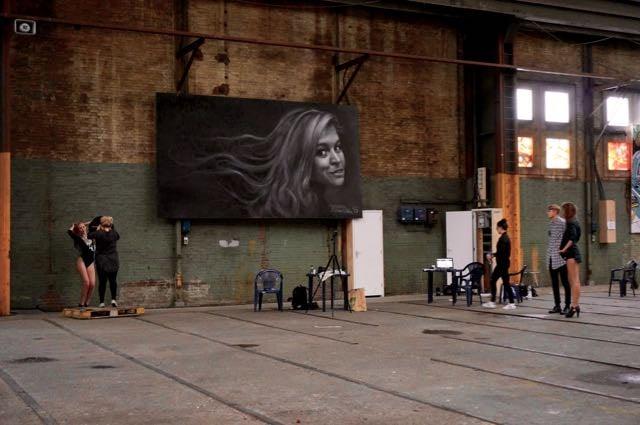 Alternative Amsterdam Noord Street Art Model