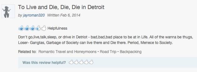 is detroit safe scaremongering