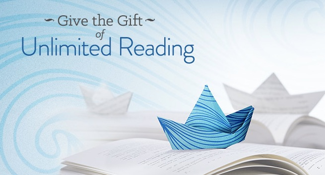 Best gifts for travelers - Kindle Unlimited