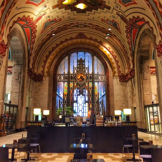 What to do in Detroit - Guardian Building interior