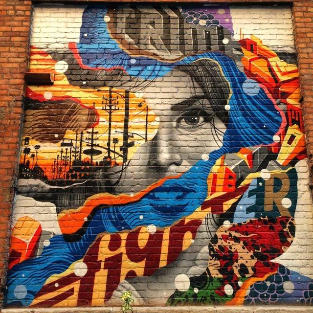 what to do in Detroit - z lot street art