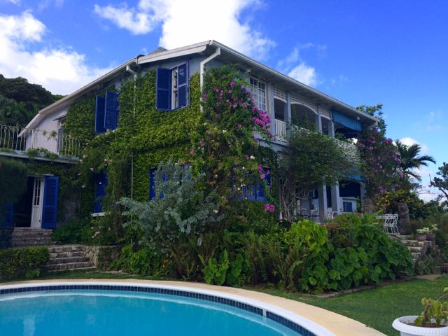 Real Jamaica Sussex House Back of Pool