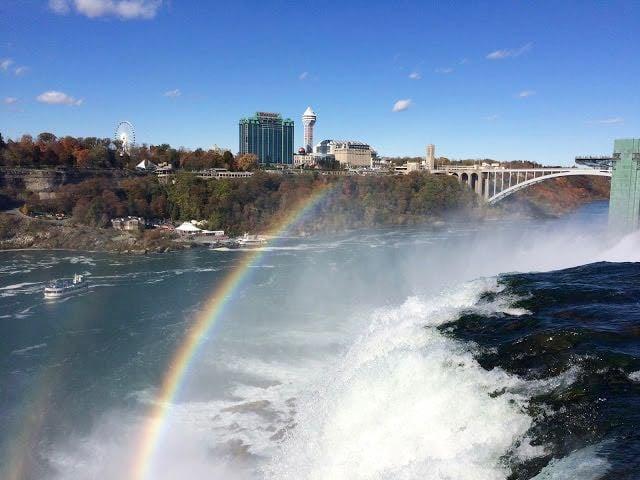 From Buffalo to Niagara Falls Bridal Veil Falls