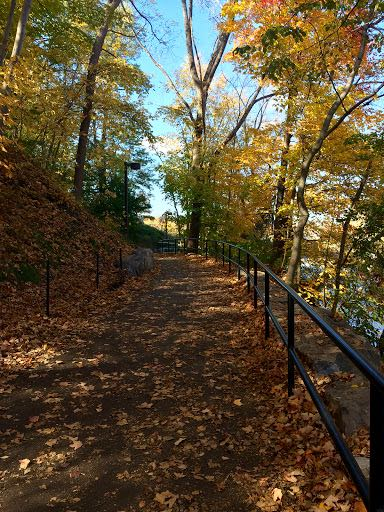 From Buffalo to Niagara Falls Goat Island trail