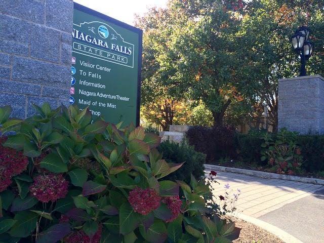 From Buffalo to Niagara Falls State Park USA