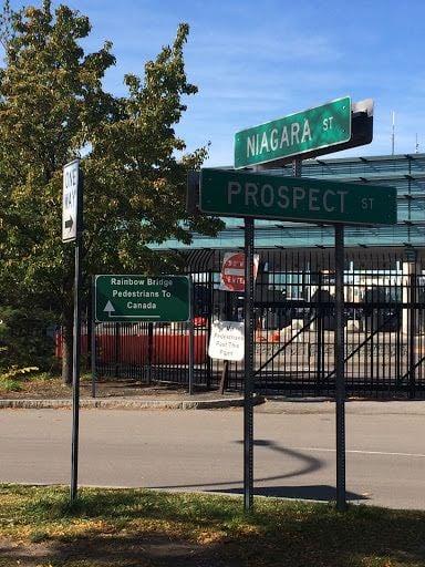 From Buffalo to Niagara Falls directions
