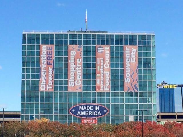 From Buffalo to Niagara Falls shopping centre