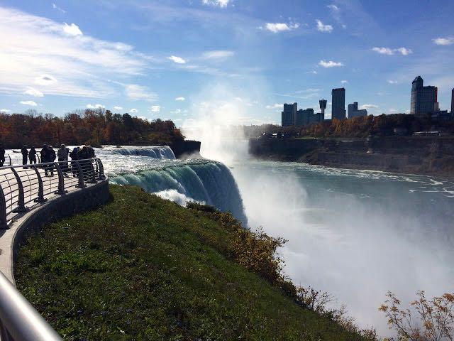 From Buffalo to Niagara Prospect Point