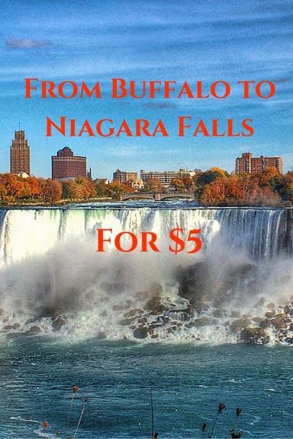 From Buffalo to Niagara Falls