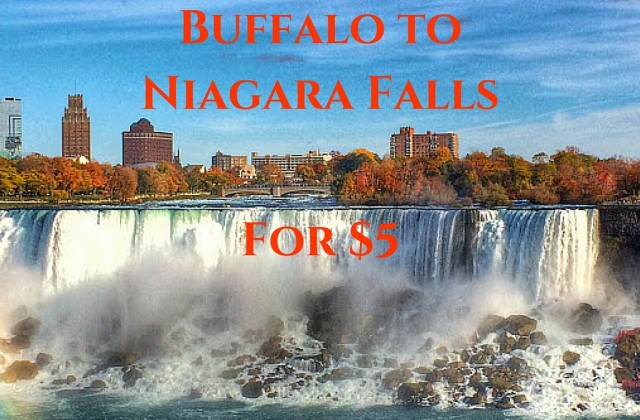From Buffalo to Niagara Falls