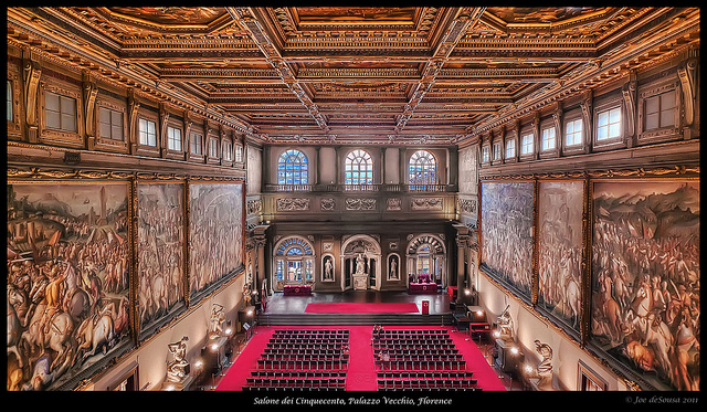 3 days in Florence Italy hall of 500