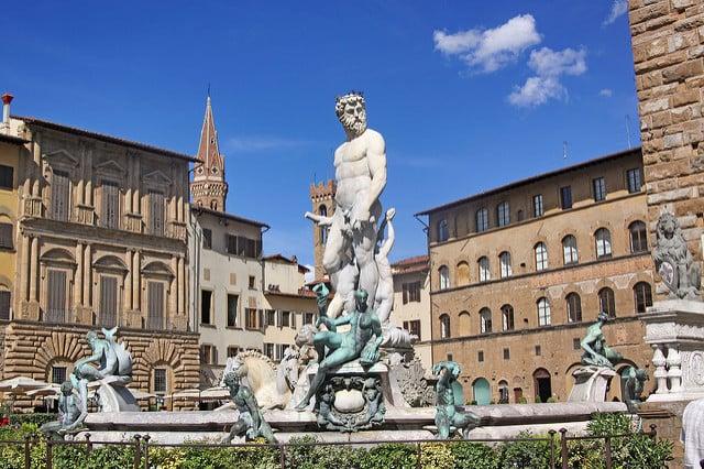 3 days in Florence Piazza della Signoria
