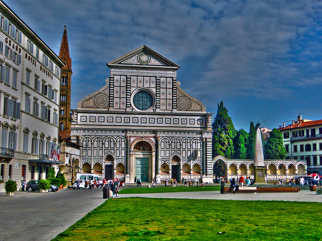 3 days in Florence Santa Maria Novella Church
