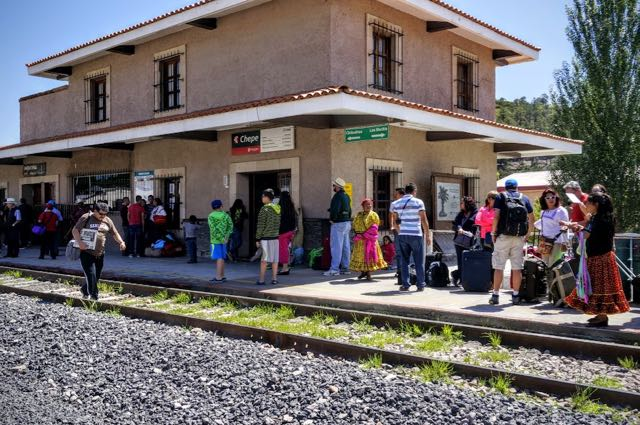 The Copper Canyon Travel Guide train creel