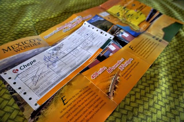 The Copper Canyon Travel Guide Train Tickets