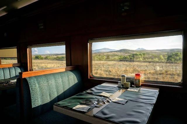 The El Chepe Train dining car