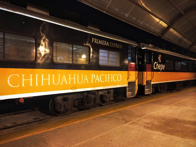 The Copper Canyon Travel Guide train