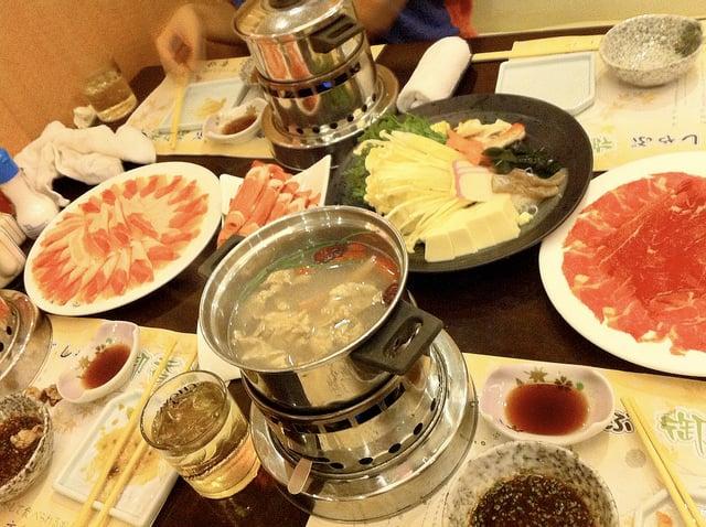 what to eat in Japan Shabu Shabu