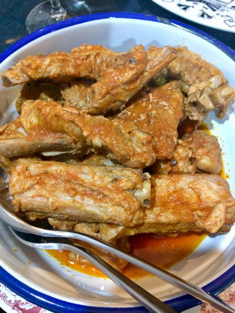 sardinian foods pork ribs