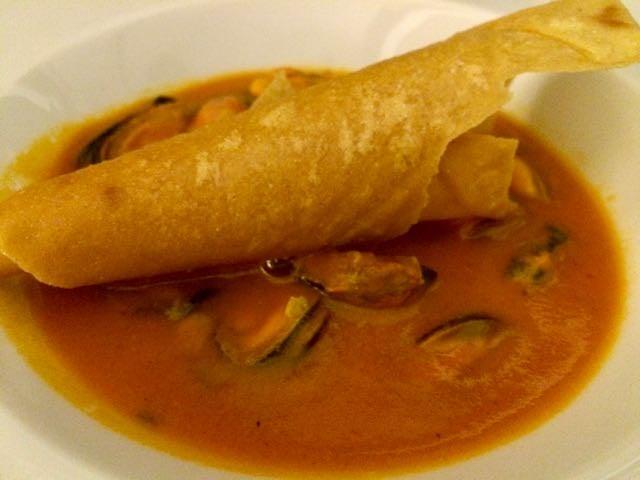 sardinian foods mussel soup