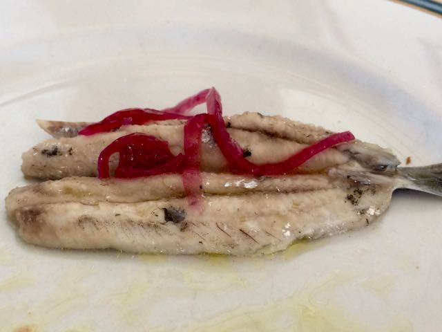 Sardinian Food Sardines