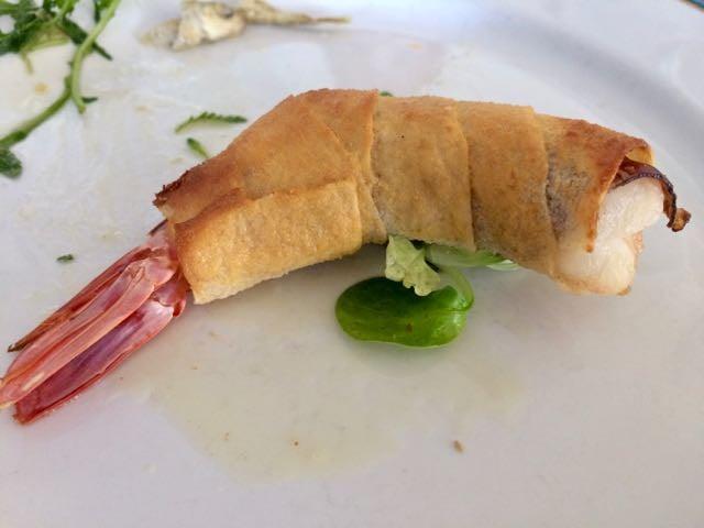 sardinian food prawn