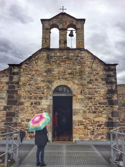 Where to go in sardinia sardara church
