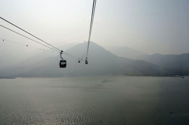 3 days in Hong Kong - Ngong Ping Cable Car