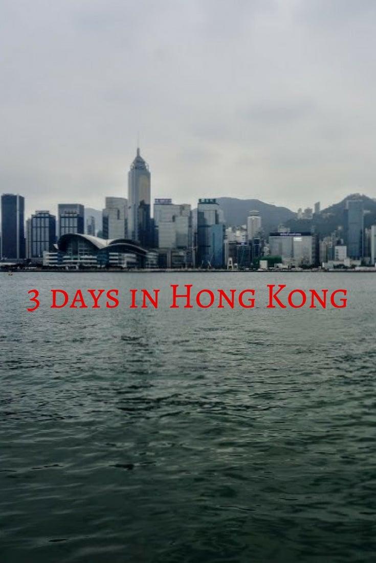 3 days in Hong Kong Pinterest