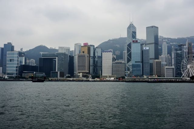 3 days in Hong Kong Waterfront Victoria Harbour