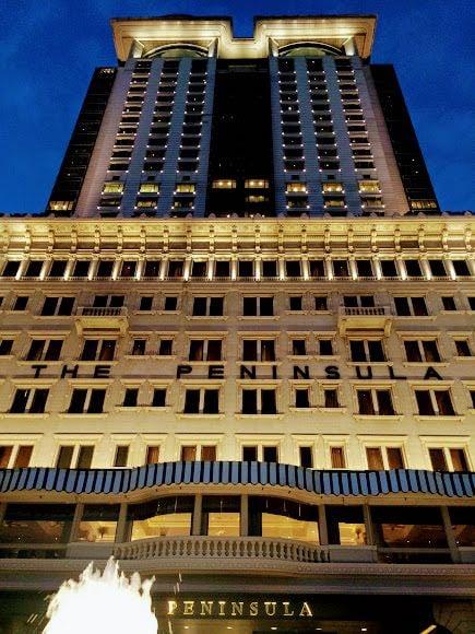 3 days in Hong Kong the Peninsula hotel