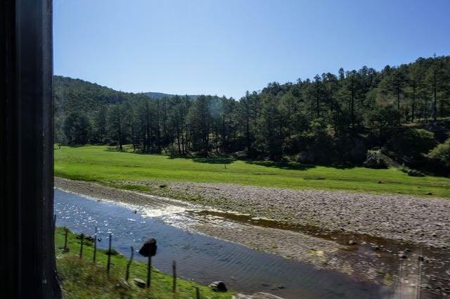 Copper Canyon Train Route - Creel