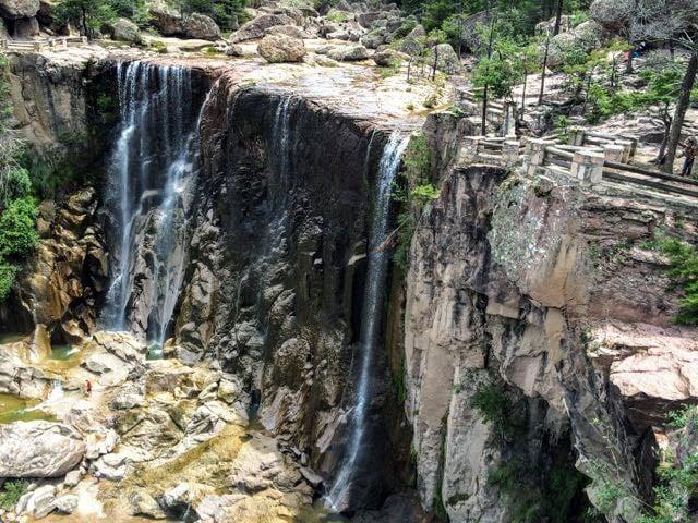 Cascadas Cusarare