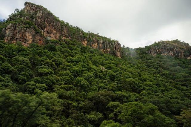 Copper Canyon Train Route - Divisadero to Los Mochis