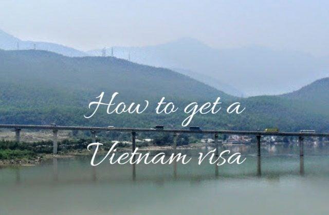 How to get a Vietnam visa Pinterest