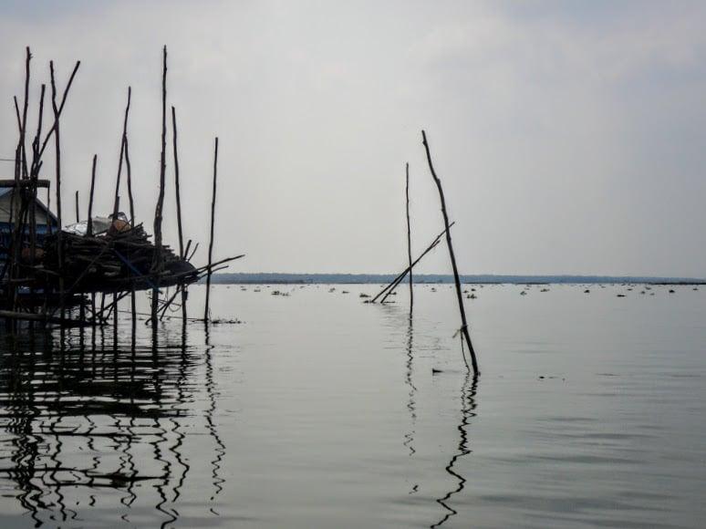 Tonle Sap in Cambodia Lake