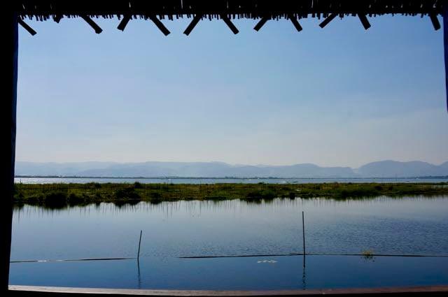 Inle Lake Tour Veranda view