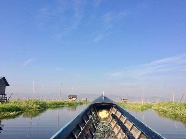 Inle Lake Tour morning boat