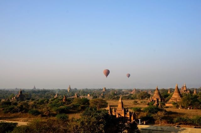 Things to do in Bagan - Blue Sky Hot Air Balloons