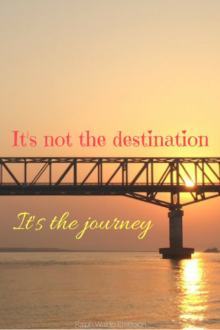Travel Quotes It's not the destination it's the journey Ralph Waldo Emerson