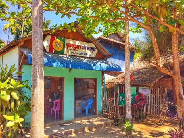 Ngapali Beach Hotels and Restaurants Travel Agent Ngapali Beach