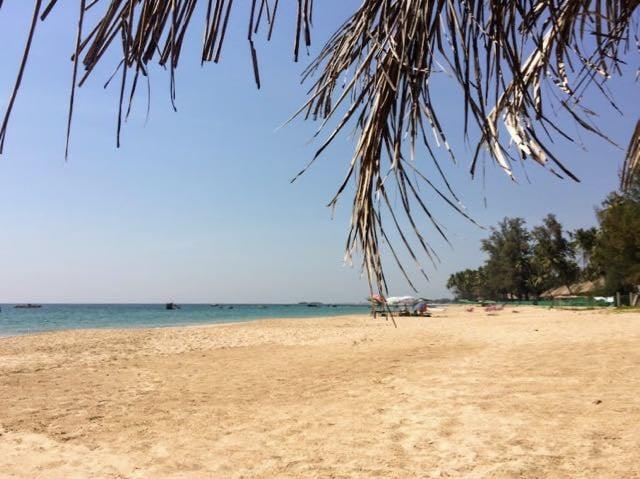 Ngapali Beach Hotels and Restaurants north beach