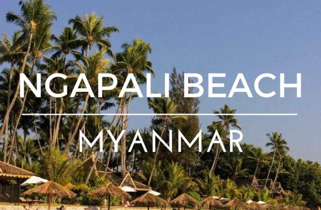 Ngapali beach hotels and restaurants main