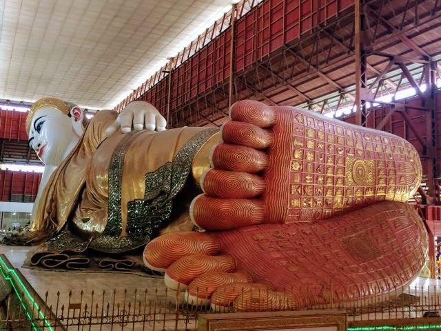 Things to do in Yangon Reclining Buddha