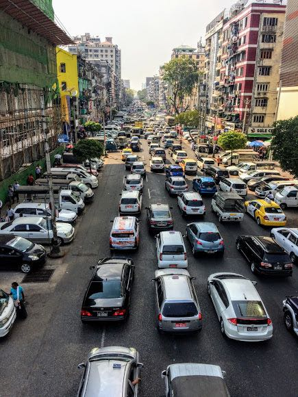 Things to do in Yangon how to get around