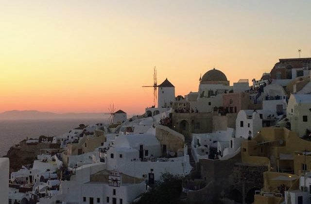 Alternative to Santorini Oia Sunset
