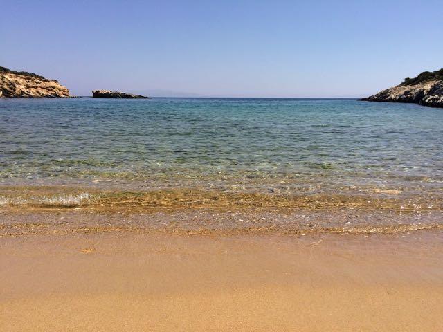 Is Santorini worth is - Paros Beach