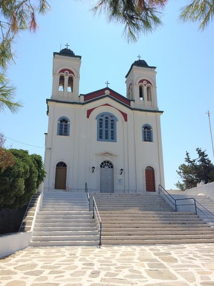 Is Santorini worth is - Paros Church